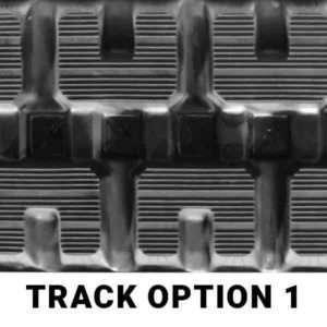 TrackHutt Bobcat T250 Aftermarket Rubber Track Tread Option 1