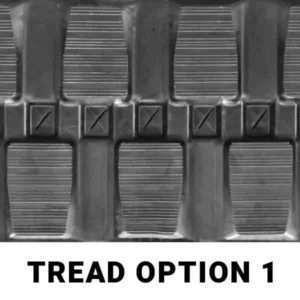 John Deere 333-D Aftermarket Rubber Track Tread Option 1